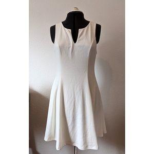 Everly White Sleeveless Dress